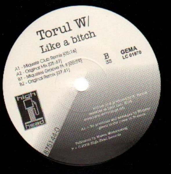 TORUL W/ - Like A Bitch - Maxi x 1