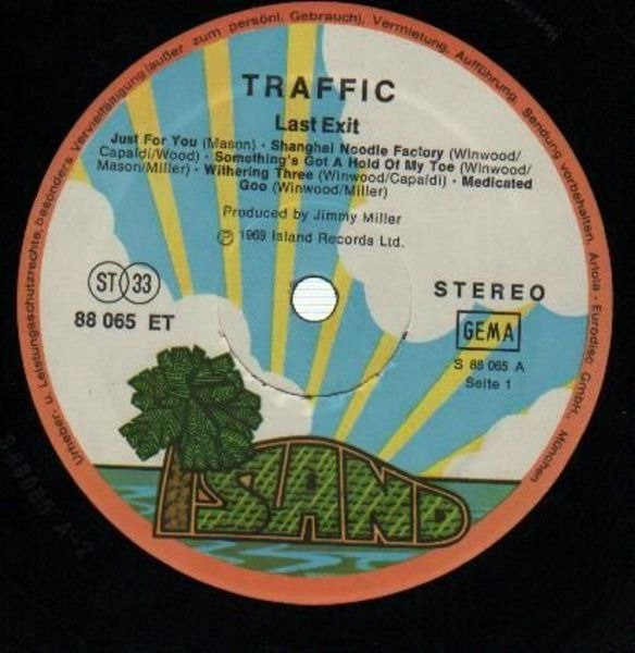 Traffic Last Exit (GATEFOLD)