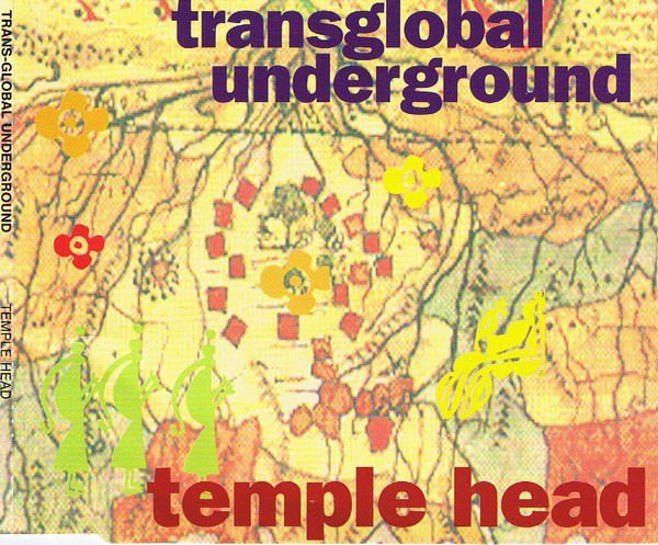 TRANSGLOBAL UNDERGROUND - Temple Head - CD single