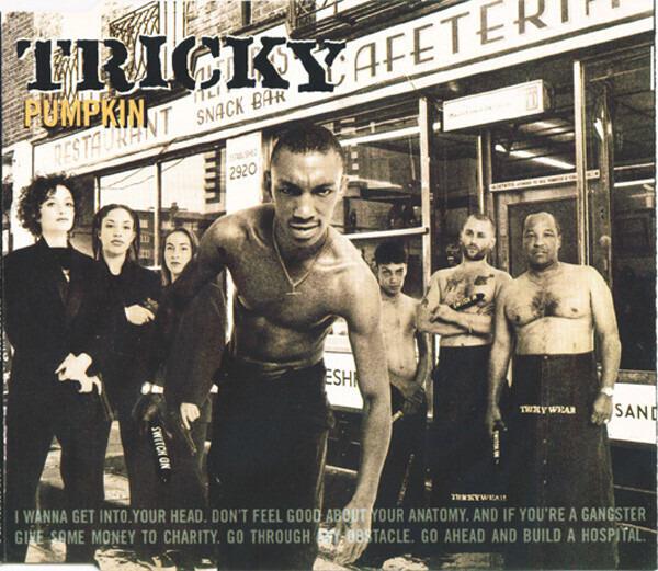 TRICKY - Pumpkin - CD single