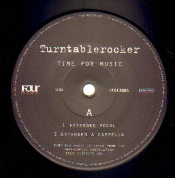TURNTABLEROCKER - Time For Music - 12 inch x 1