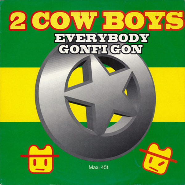 TWO COWBOYS - Everybody Gonfi Gon - Maxi x 1