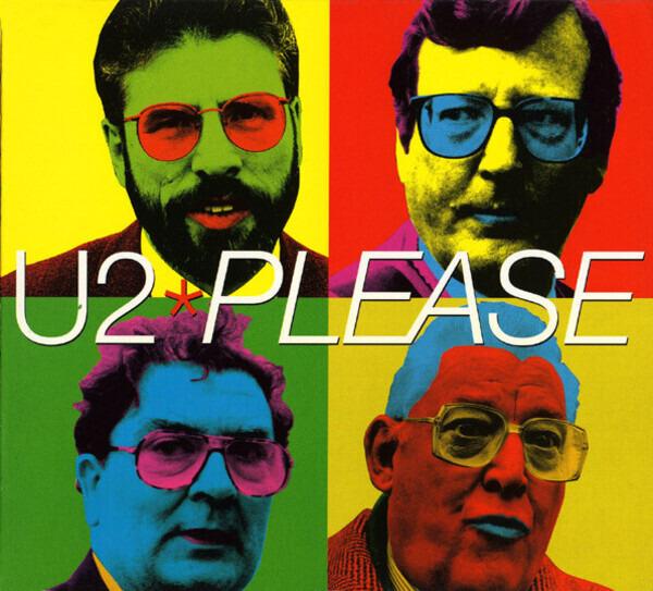 U2 - Please (DIGIPAK) - CD single
