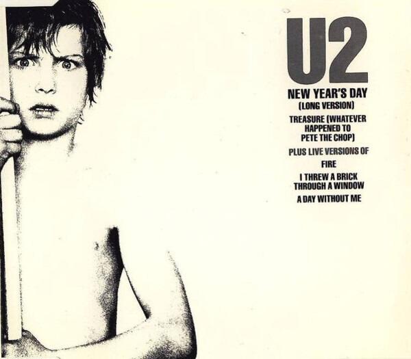 U2 New Year's Day (BLUE LABEL LOGO)