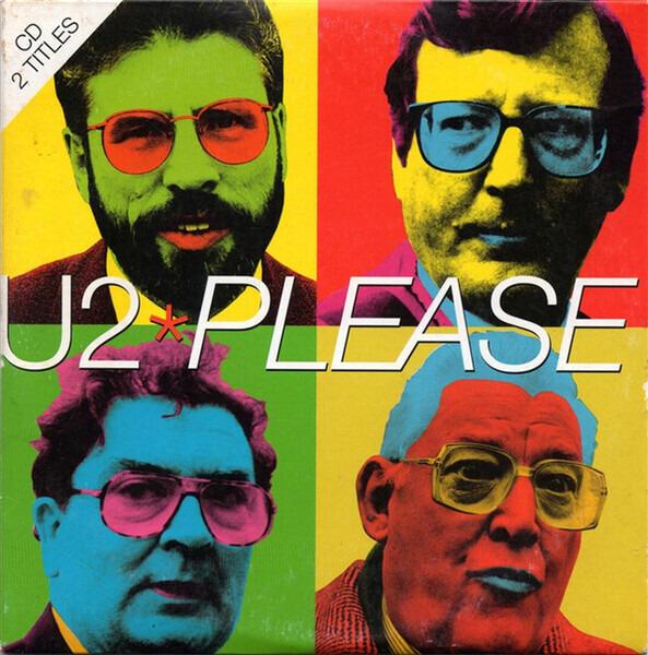 U2 - Please (CARD SLEEVE) - CD single
