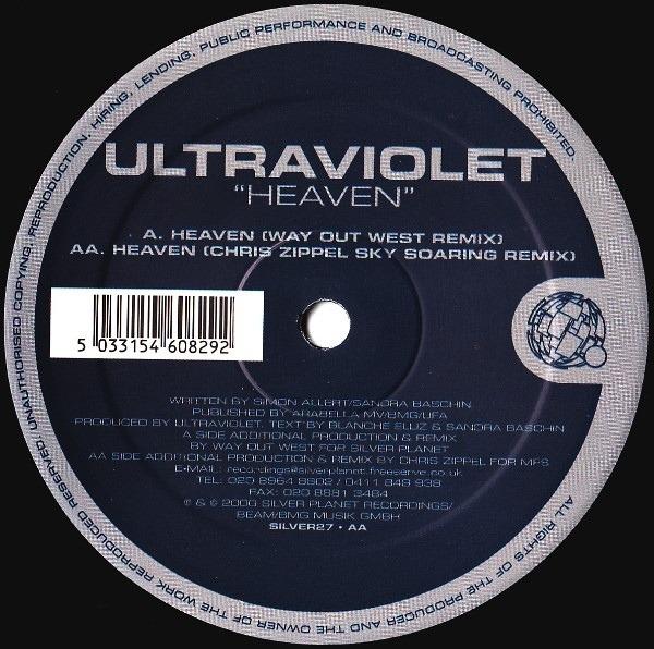 ULTRA VIOLET - Heaven - Maxi x 1