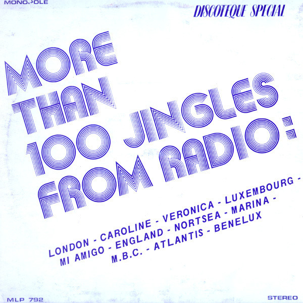 UNKNOWN ARTIST - More Than 100 Jingles From Radio - LP