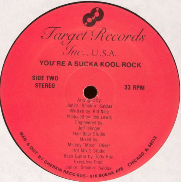 #<Artist:0x00000006a2ced8> - You're A Sucka Kool Rock
