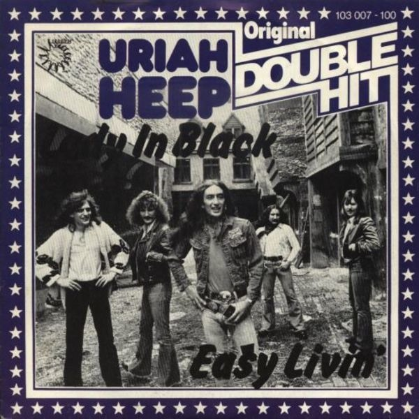 URIAH HEEP - Lady In Black / Easy Livin' - 7inch x 1