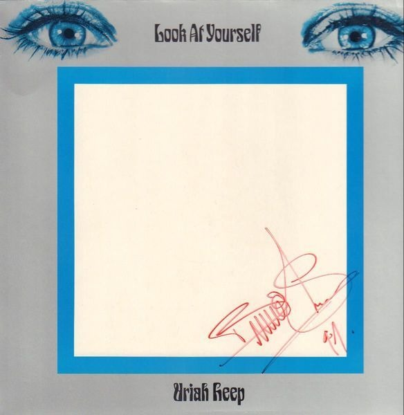 URIAH HEEP - Look At Yourself (SIGNED!) - LP