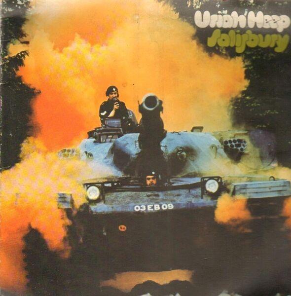 URIAH HEEP - Salisbury (GATEFOLD) - LP