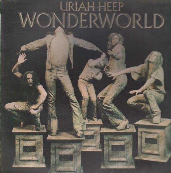 URIAH HEEP - Wonderworld - LP