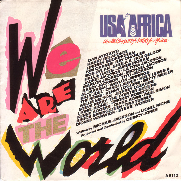 #<Artist:0x007f273bd7c2b0> - We Are The World