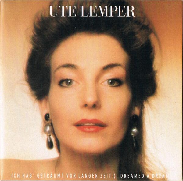 UTE LEMPER - Ich Hab' Geträumt Vor Langer Zeit (I Dreamed A Dream) - CD single