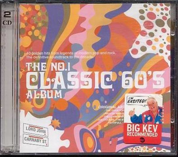 VARIOUS ARTISTS - No1 Classic 60's Album - CD x 2