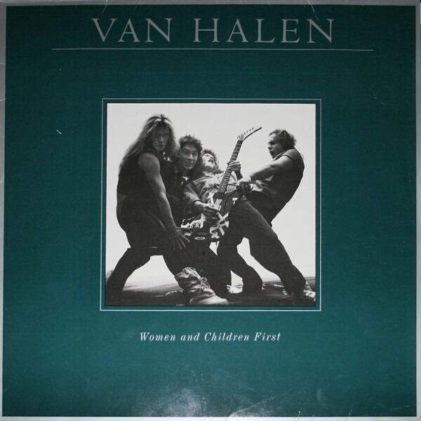 van halen women and children first (with poster)
