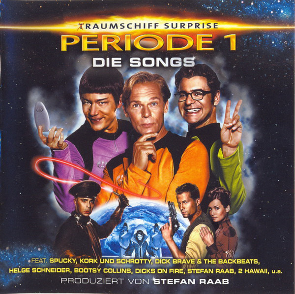 The Platters / Rage / Barry Tenderloin a.o. (T)Raumschiff Surprise - Periode 1: Die Songs