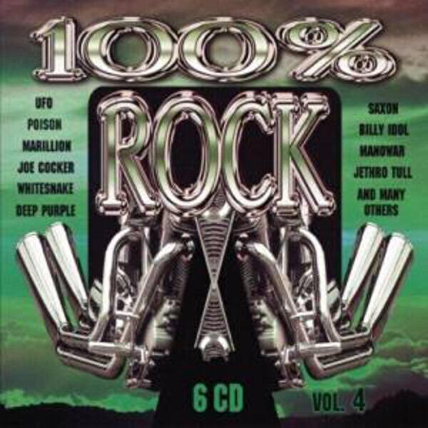 Deep Purple / Black Sabbath / Scorpions a.o. 100% Rock Vol. 4 (STILL SEALED)