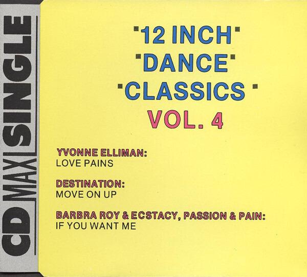 YVONNE ELLIMAN / DESTINATION A. O. - 12 Inch Dance Classics Vol. 4 - CD single