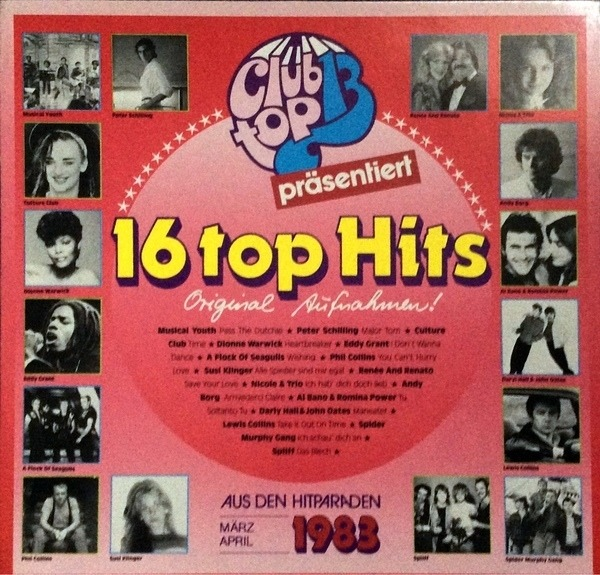 #<Artist:0x007f985ec2fda0> - 16 Top Hits - März / April 1983