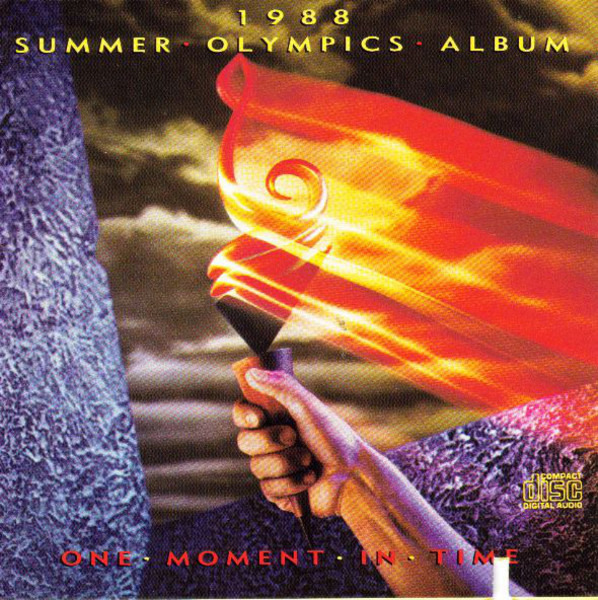 whitney houston / four tops / bee gees a.o. 1988 summer olympics album (one moment in time)