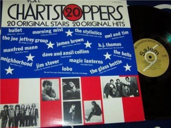 Lobo, James Brown, Magic Lanterns 20 Chartstoppers Vol 1 (STILL SEALED)