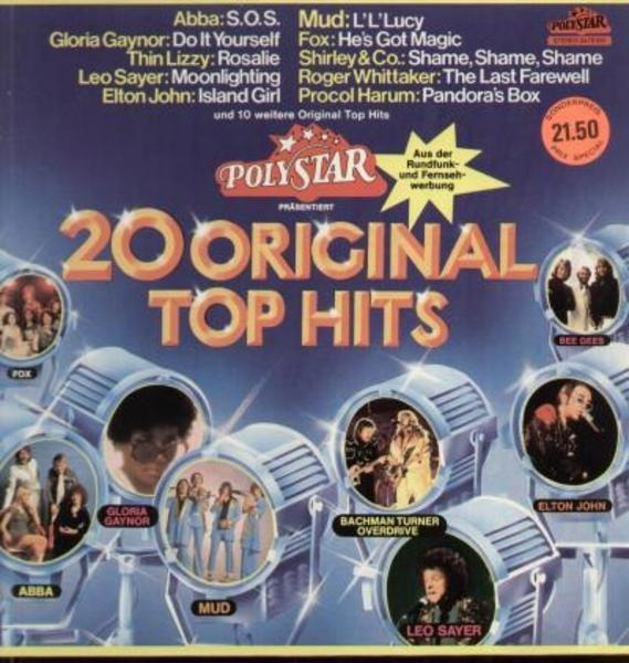#<Artist:0x007f519f9570c0> - 20 Original Top Hits