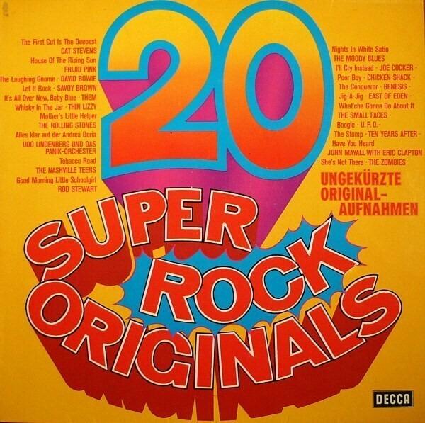 Cat Stevens, Frijid Pink, David Bowie, a.o. 20 Super Rock Originals