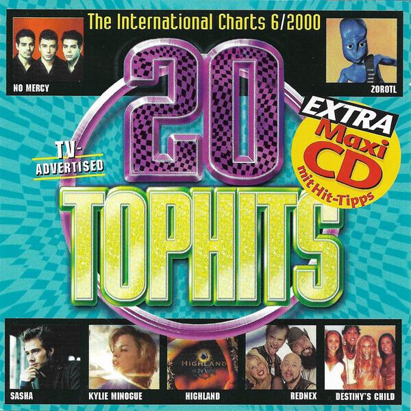 Rednex / Five + Queen / Gigi D'Agostino 20 Top Hits - The International Charts 6/2000 (MAXI-CD)