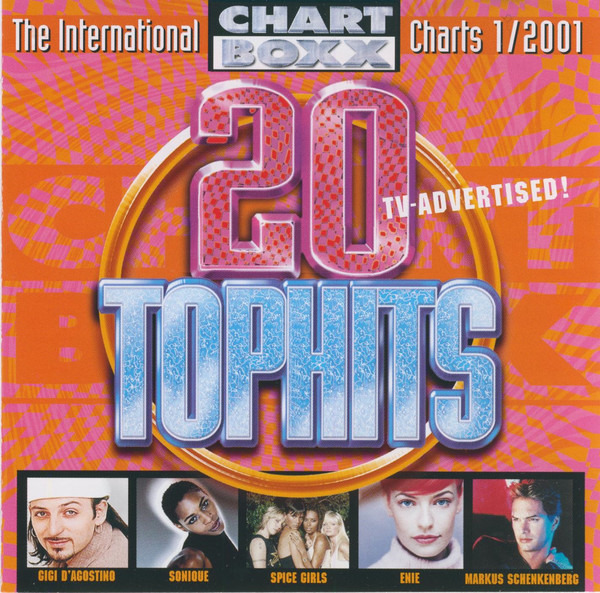 GIGI D'AGOSTINO / SPICE GIRLS / UNDERDOO PROJECT / - 20 Tophits - The International Charts 1/2001 - CD
