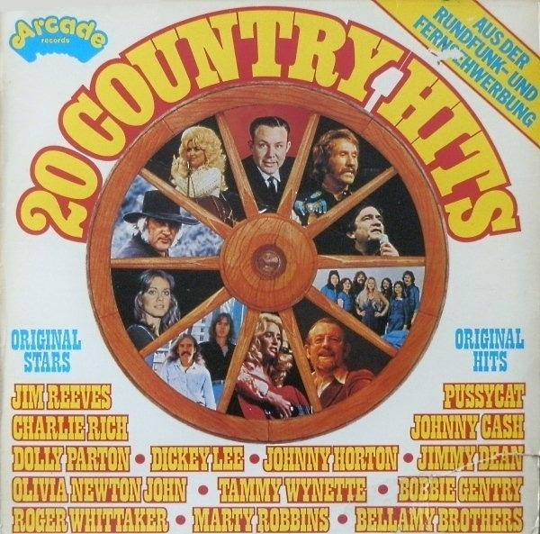 #<Artist:0x007f33935a22d8> - 20 Country Hits