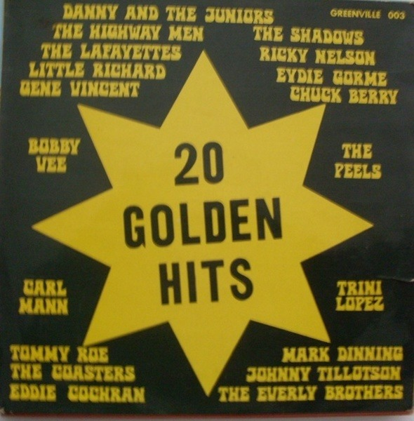 Bobby Vee, The Shadows, Chuck Berry 20 Golden Hits