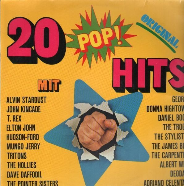 Alvin Stardust, T. Rex, Pointer Sisters 20 Pop-Hits