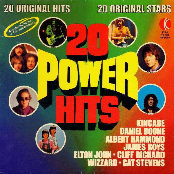 Elton John, Wizzard, Kincade, ... 20 Power Hits