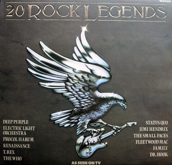 Black Sabbath, Deep Purple, Nazareth, etc 20 Rock Legends