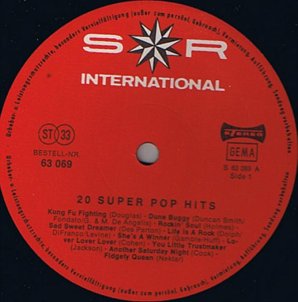 Carl Douglas, Cat Stevens, Leonard Cohen... 20 Super Pop Hits