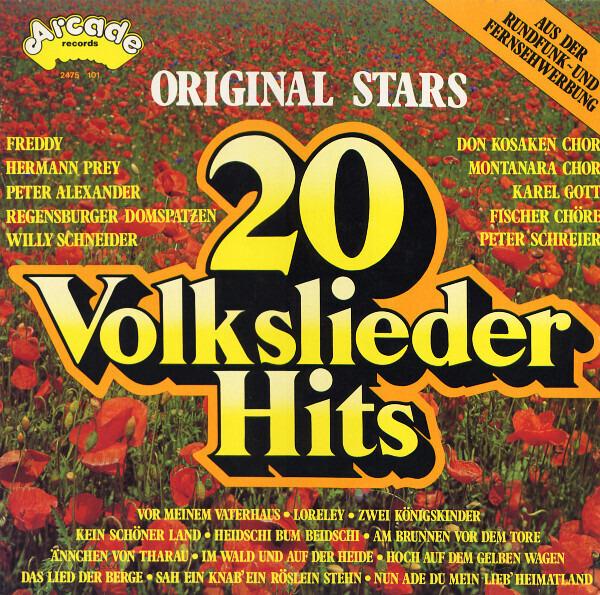 #<Artist:0x007f985f6c5738> - 20 Volkslieder Hits