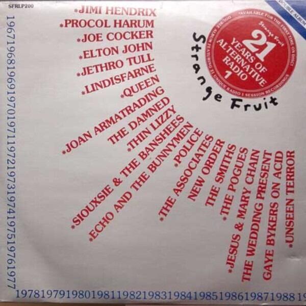 Jimi Hendrix, Damned, New Order... 21 Years Of Alternative Radio 1