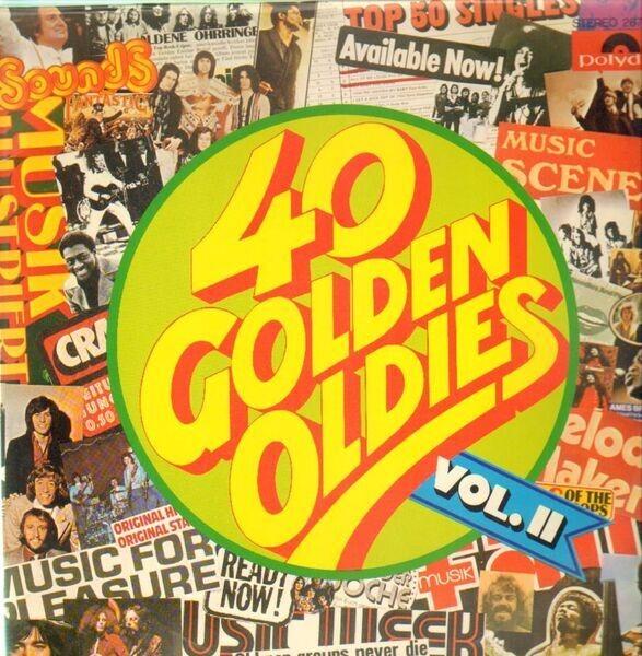 Cream, Jimi Hendrix, The Who a.o. 40 Golden Oldies Vol. II