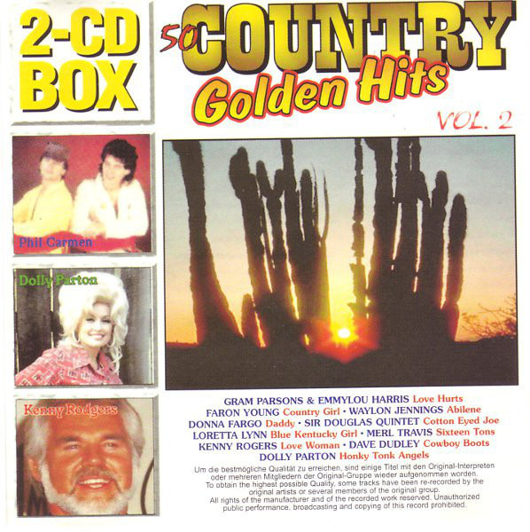 Sandy Posey / Merle Travis 50 Country Golden Hits Vol. 2