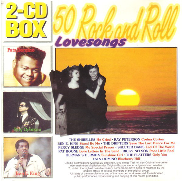 The Shangri-las / Ray Peterson / Ben E. King / etc 50 Rock And Roll Lovesongs
