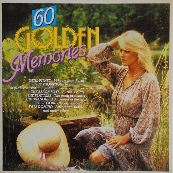 Gene Pitney / Sue Thompson / Dionne Warwick a.o. 60 Golden Memories (3-LP BOX)