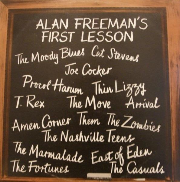 Thin Lizzy, Joe Cocker, Cat Stevens a.o. Alan Freeman's First Lesson