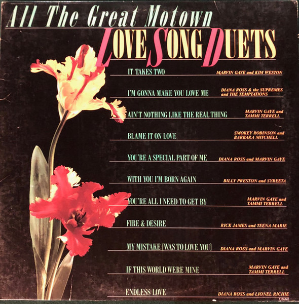 Marvin Gaye, Syreeta, a.o. All The Great Motown Love Song Duets