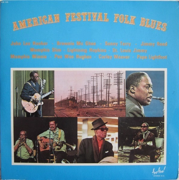#<Artist:0x007f64120c2768> - American Festival Folk Blues