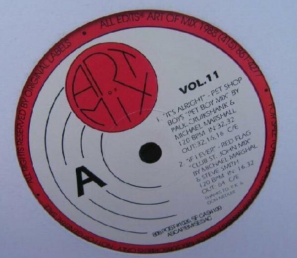 PET SHOP BOYS, RED FLAG, HUBERT KAH A.O. - Art Of Mix - Vol. 11 (STILL SEALED) - Maxi x 1