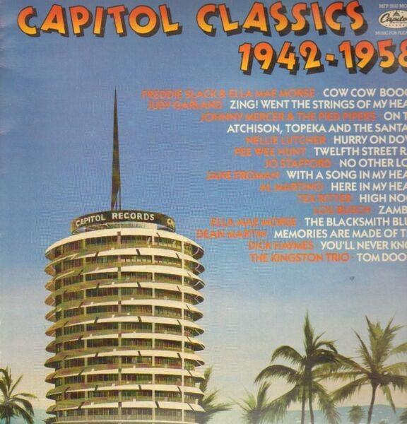 FREDDIE SLACK & ELLA MAE MORSE, JUDY GARLAND, PEE  - Capitol Classics 1942-1959 - LP
