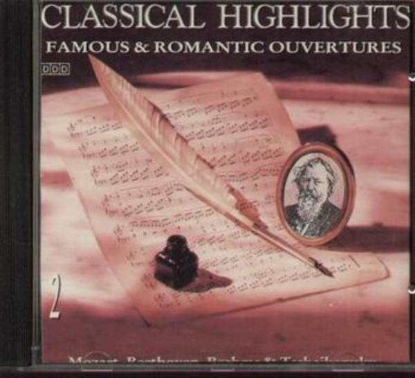 VARIOUS ARTISTS - The Classical Collection Famous & Romantic Ouvertures - CD
