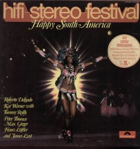 HAPPY SOUTH AMERICA - Hifi-Stereo-Festival - 33T