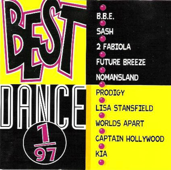 B.B.E / SASH / 2 FABIOLA - Best Dance 1/97 - CD